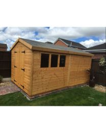12 x 8 Standard Shed Apex Roof