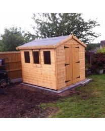 6 x 6 Standard Shed Apex Roof