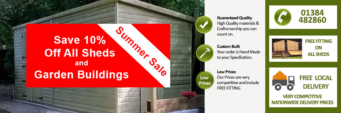 Quality Garden Buildings Brierley Hill