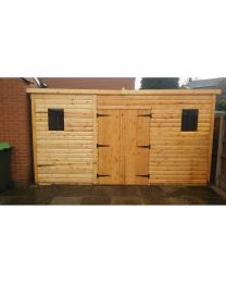 10 x 8 Standard Shed Pent Roof