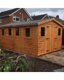 16 x 8 Standard Shed Apex Roof