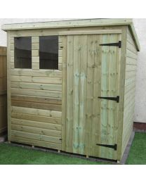 6 x 4 Heavy Duty Shed Pent Roof