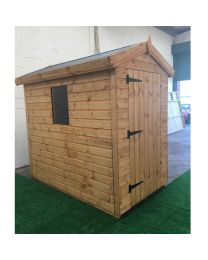 6 x 4 Heavy Duty Shed Apex Roof