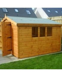 8 x 8 Standard Shed Apex Roof