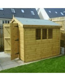 8 x 6 Heavy Duty Shed Apex Roof