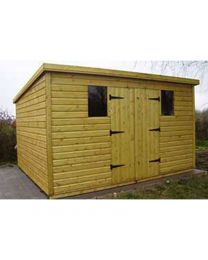 11 x 8 Heavy Duty Shed Pent Roof