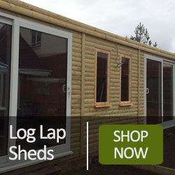 Log Lap Sheds